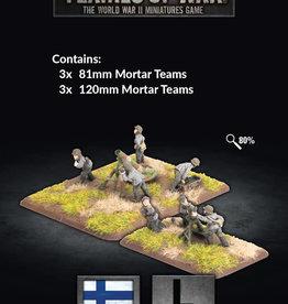 Battlefront Miniatures Flames of War: Finnish: 81mm and 120 mm Mortar Platoons