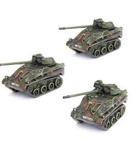 Battlefront Miniatures Team Yankee: German: Wiesel FK 20mm Flugabwehr Zug