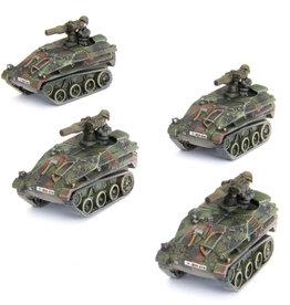 Battlefront Miniatures Team Yankee: German: Wiesel TOW Panzerabwehr Zug