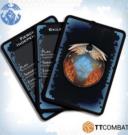 TTCombat Dropfleet Commander: DFC Resistance Command Cards