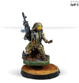 Corvus Belli Infinity Haqqislam Mukthar, Active Response Unit
