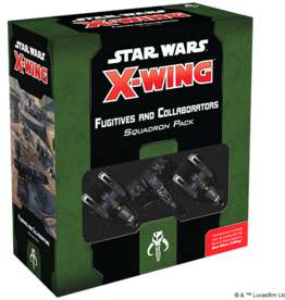 Fantasy Flight Games Star Wars X-Wing 2.0: Fugitives and Collaborators Squadron Pack