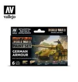 Battlefront Miniatures Vallejo Model Colors Set- 70205 - German Armour (New)