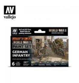 Battlefront Miniatures Vallejo Model Colors Set- 70206 - German Infantry