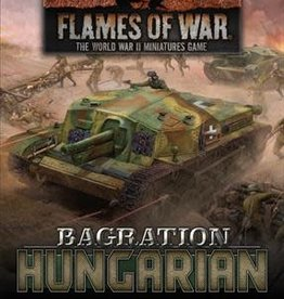 Battlefront Miniatures Flames of War: Bagration: Hungarian Command Cards