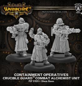 Privateer Press Warmachine: Containment Operatives– Crucible Guard Unit