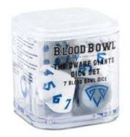 Games Workshop Blood Bowl: Dwarf Giants Team Dice Set