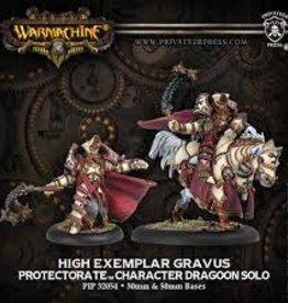 Privateer Press Warmachine: Menoth: High Exemplar Gravus Dragoon