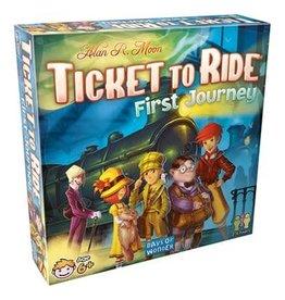 Days of Wonder Ticket To Ride: First Journey