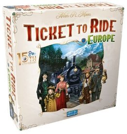 Days of Wonder Ticket To Ride: Europe - 15th Anniversary Edition (New)