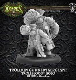 Privateer Press Hordes: Trollbloods: Trollkin Gunnery Sergeant