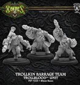 Privateer Press Hordes: Trollbloods: Trollkin Barrage Team Unit
