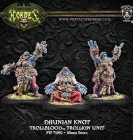 Privateer Press Hordes: Trollbloods : Dhunian Knot