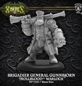 Privateer Press Hordes: Trollbloods: Brigadier General Gunnbjorn - Warlock