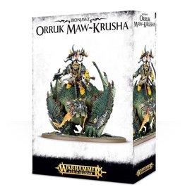 Games Workshop Warhammer Age of Sigmar: Megaboss on Maw-krusha