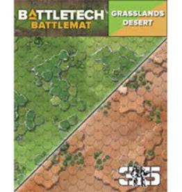 Catalyst Game Labs Battletech: Battlemat: Desert/Grasslands A