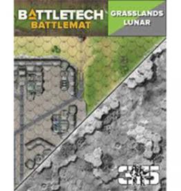 Catalyst Game Labs Battletech: Battlemat: Lunar/Grasslands B