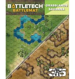 Catalyst Game Labs Battletech: Battlemat: Savanna/Grasslands D (New)