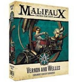 Wyrd Games Malifaux 3e: Vernon and Welles