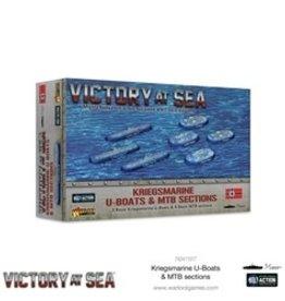 Warlord Games Victory at Sea: Kriegsmarine U-Boats & MTB sections