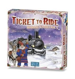 Days of Wonder Ticket to Ride: Nordic Countries (New)