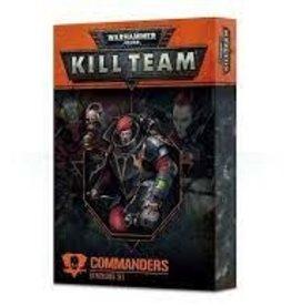 Games Workshop KIll Team: Commnaders Expansion