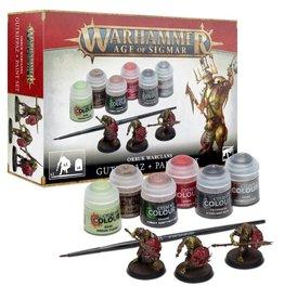 Citadel Orruk Warclans Gutrippaz + Paints Set