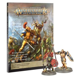 Games Workshop Getting Started With Warhammer Age of Sigmar (New)