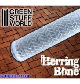 Green Stuff World Green Stuff World: Rolling Pin - Herringbone