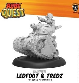 Privateer Press Riot Quest: Ledfoot and Tredz Blister