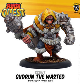 Privateer Press Riot Quest: Gudrun the Wasted