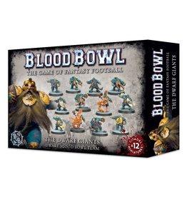 Games Workshop Blood Bowl: The Dwarf Giants - Dwarf Blood Bowl Team