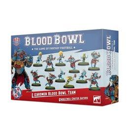 Games Workshop Blood Bowl: Lizardmen Team: Gwaka'moli Crater Gators