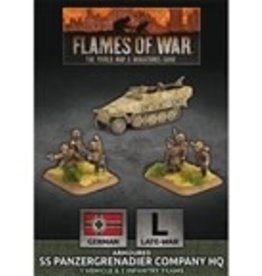 Battlefront Miniatures Flames of War: German: Armoured SS Panzergrenadier Company HQ