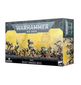 Games Workshop Warhammer 40,000: Ork Beast Snagga Boyz (New)
