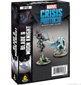 Atomic Mass Games Marvel Crisis Protocol: Blade and Moon Knight Character Pack (New)
