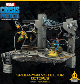 Atomic Mass Games Marvel Crisis Protocol: Rival Panels: Spider-Man Vs Doctor Octopus (Pre-Order)