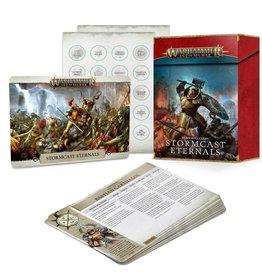 Games Workshop Warscroll Cards: Stormcast Eternals (2021) (New)