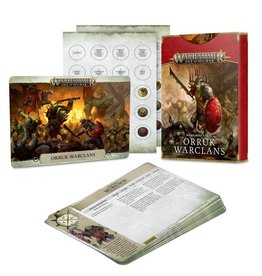 Games Workshop Warscroll Cards: Orruk Warclans (New)
