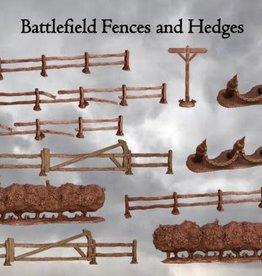 Mantic Terrain Crate: Battlefield Fences & Hedgerows
