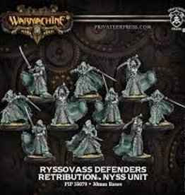 Privateer Press Warmachine: Retribution Of Scyrah: Ryssovass Defenders