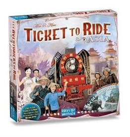 Days of Wonder Ticket To Ride: Map Collection #1- Asia