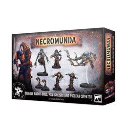 Games Workshop Necromuna: Delaque Nacht-Ghul, Psy-Gheists and Piscean Spektor