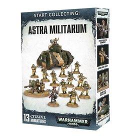 Games Workshop Warhammer 40,000: Start Collecting! Astra Militarum