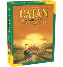 Catan (5th Edition): Expansion Cities & Knights 5-6 Player Extension