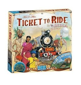 Days of Wonder Ticket To Ride: Map Collection #2- India