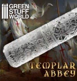 Green Stuff World: Rolling Pin Templar Abbey