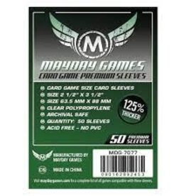 Mayday: Dark Green Label: Premium Card Game Sleeves
