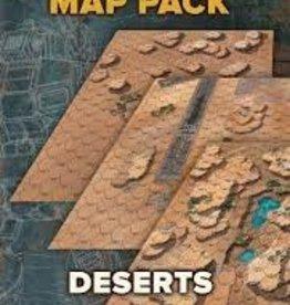 BattleTech Map Pack: Deserts (New)