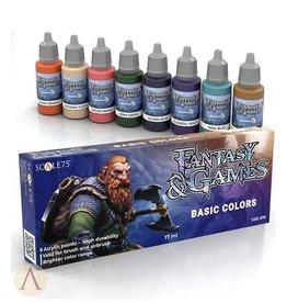 Scale75: Fantasy & Games: Basic Colors Set